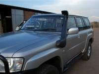 Шноркель Nissan Patrol/Safari Y61 (09/2004 - и далее/дизель TD42-T 4.2л-I6/дизель ZD30DDTI 3.0л-I4)