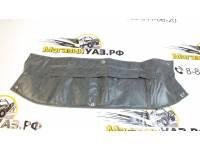 Утеплитель радиатора Патриот (рестайлинг) темно-серый