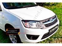 Накладки на передние фары (реснички) Lada (ВАЗ) Granta седан 2011-2015
