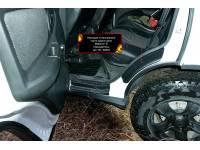 Накладки на внутренние части задних арок со скотчем 3М (вариант 2) Lada (ВАЗ) Niva 2020-