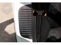 Накладки на внутренние части задних арок без скотча Lada (ВАЗ) Kalina 2 Хетчбэк 2013-2018
