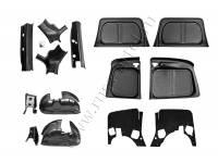 Защитный комплект №2 (усиленный) без скотча Lada (ВАЗ) Largus фургон 2012-2019