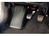 Накладка на ковролин водителя (зона отдыха левой ноги) Lada (ВАЗ) Vesta SW Cross 2018-