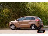 Накладка на задний бампер Lada (ВАЗ) Xray 2016-