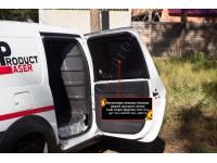 Внутренняя обшивка боковых дверей грузового отсека без скотча Lada (ВАЗ) Largus фургон 2012-2019