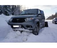 Защита заднего и переднего бампера на новый УАЗ Патриот