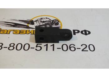 Кронштейн фаркопа под шакл 50 мм (сталь, порошковая окраска) Чёрный